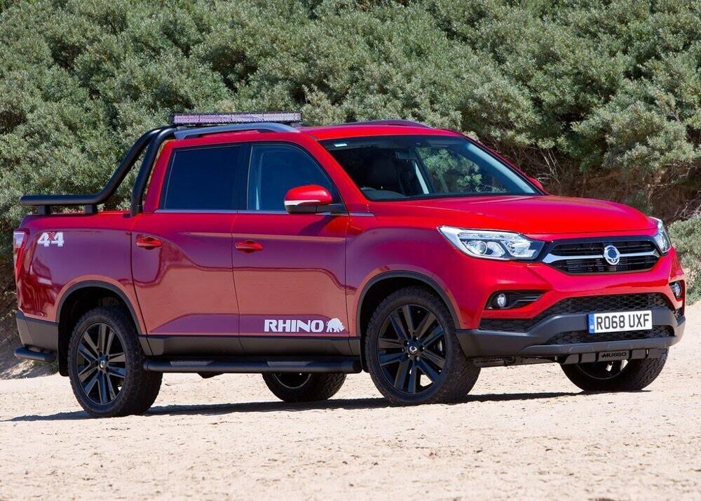 Chi tiết xe bán tải SsangYong Musso giá rẻ vừa ra mắt - Hình 1