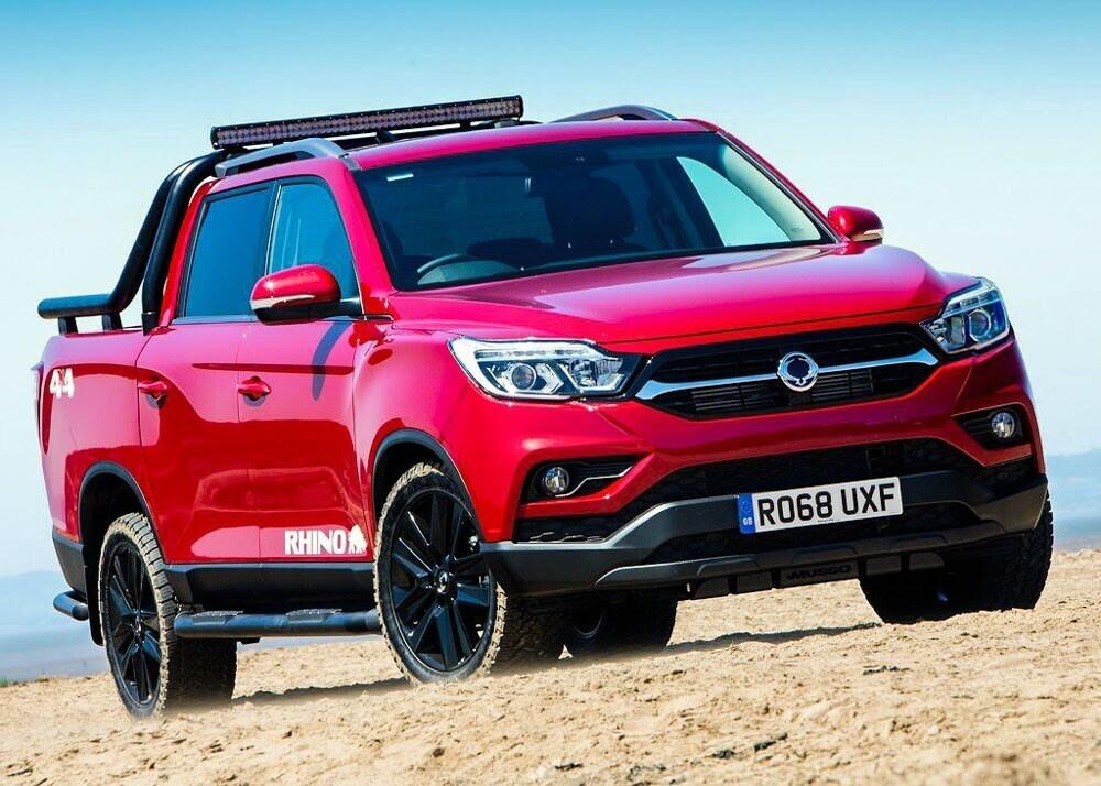 Chi tiết xe bán tải SsangYong Musso giá rẻ vừa ra mắt - Hình 3
