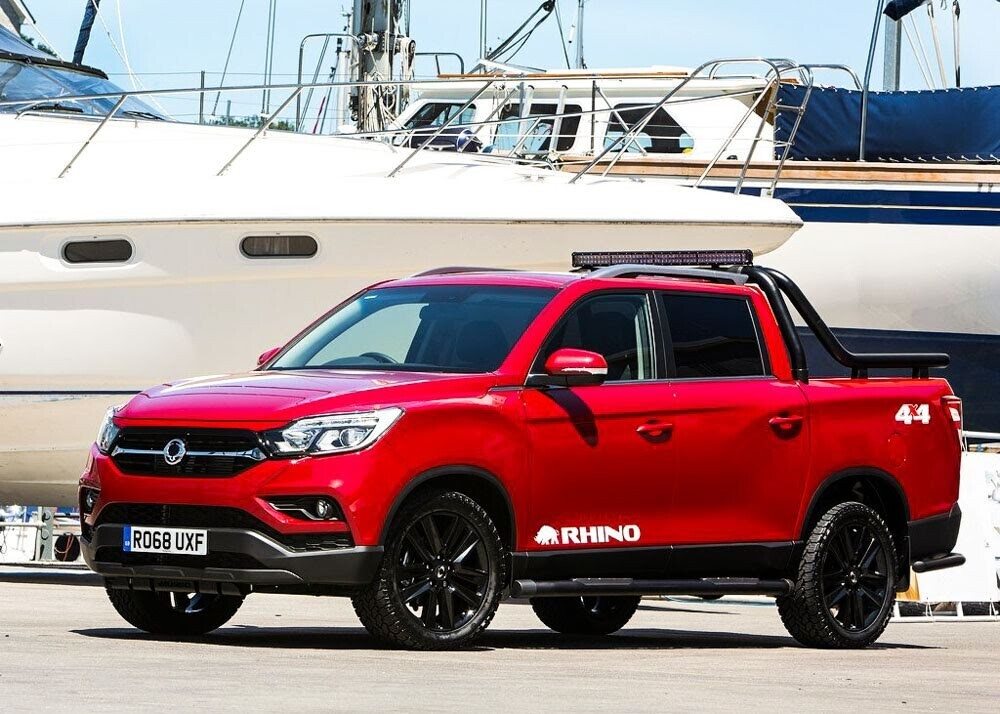 Chi tiết xe bán tải SsangYong Musso giá rẻ vừa ra mắt - Hình 6