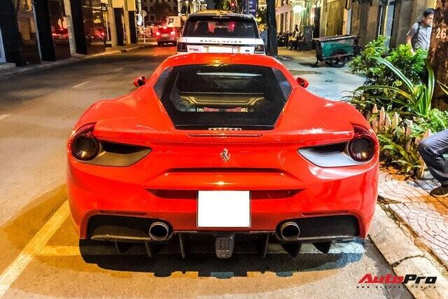 Chia tay ông Đặng Lê Nguyên Vũ, Ferrari 488 GTB màu đỏ tìm được chủ nhân mới tại Sài Gòn - Ảnh 3.