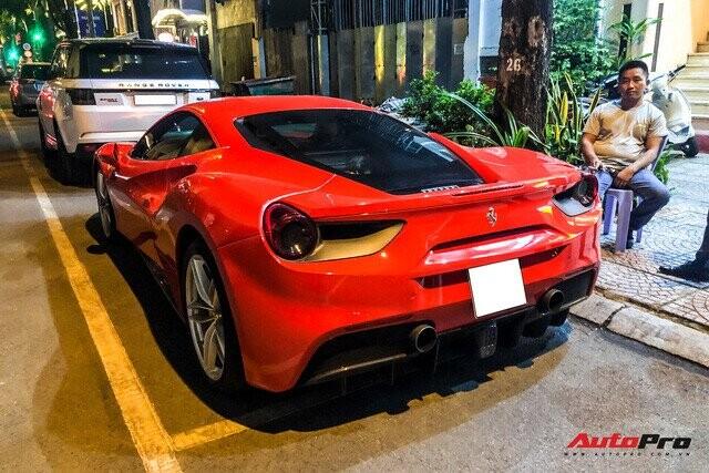 Chia tay ông Đặng Lê Nguyên Vũ, Ferrari 488 GTB màu đỏ tìm được chủ nhân mới tại Sài Gòn - Ảnh 4.