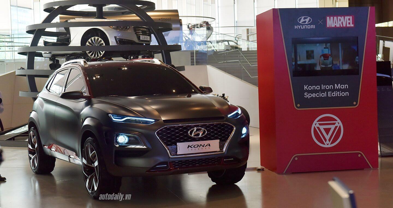 """Chiêm ngưỡng """"người sắt"""" Hyundai KONA Iron Man Special Editon - Hình 1"""