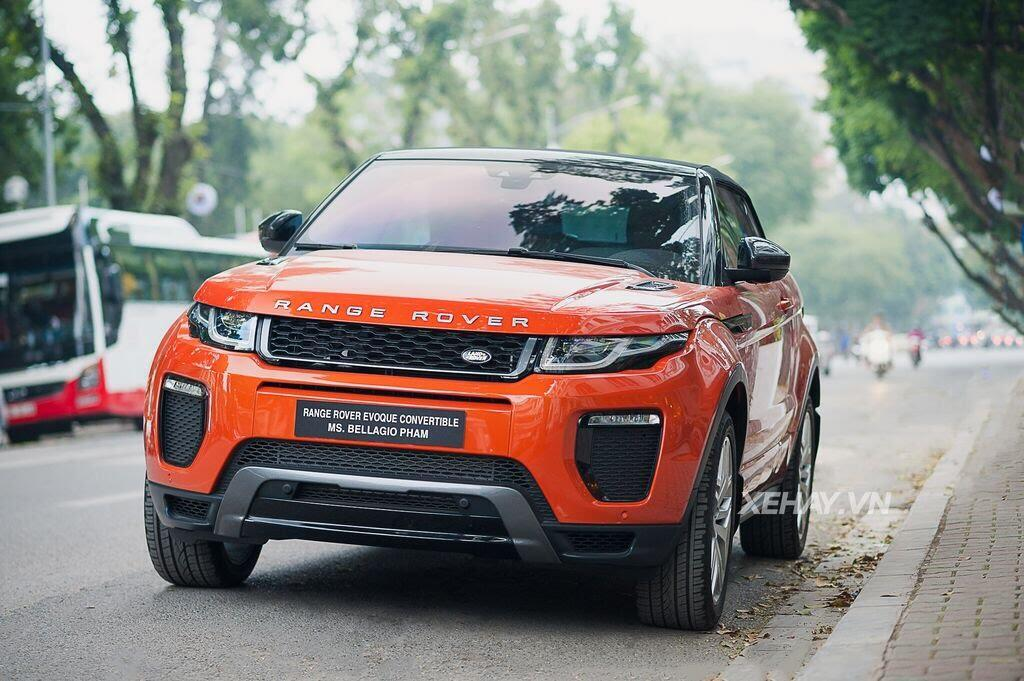 Chiêm ngưỡng Range Rover Evoque Convertible màu độc nhất Việt Nam của nữ biker Hà thành - Hình 1