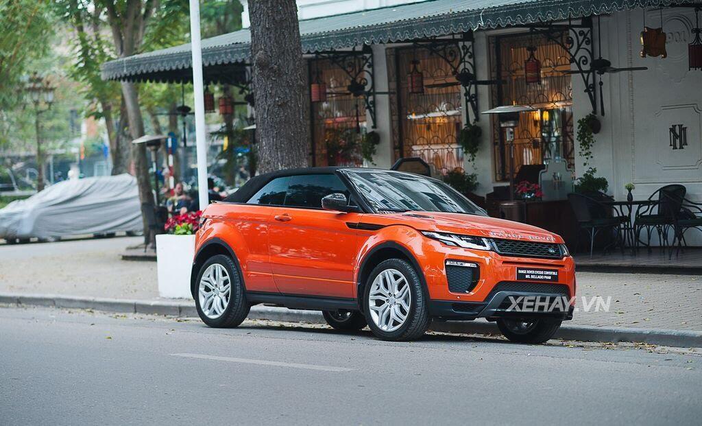 Chiêm ngưỡng Range Rover Evoque Convertible màu độc nhất Việt Nam của nữ biker Hà thành - Hình 2