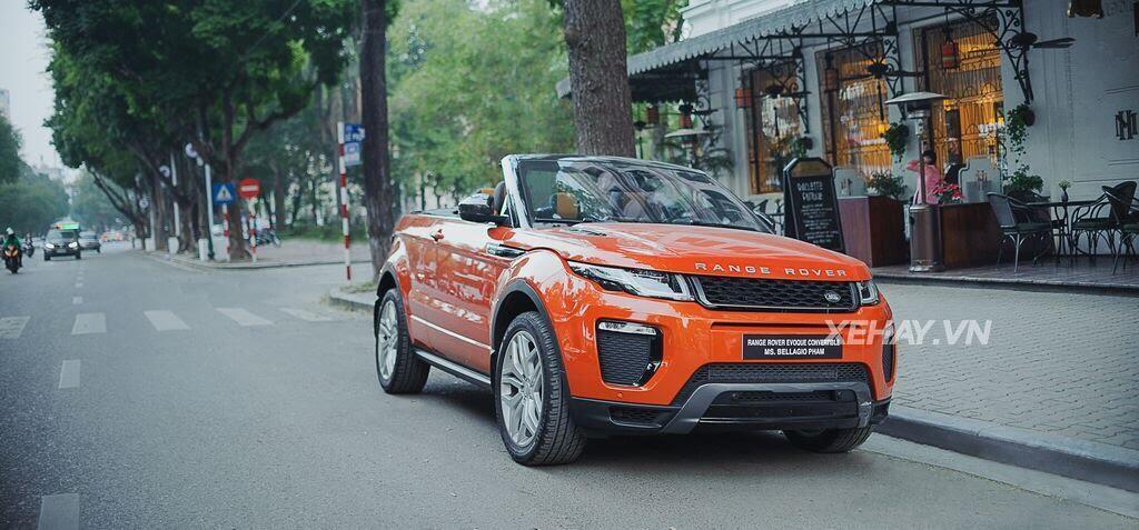 Chiêm ngưỡng Range Rover Evoque Convertible màu độc nhất Việt Nam của nữ biker Hà thành - Hình 6