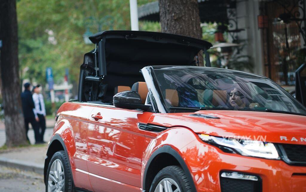 Chiêm ngưỡng Range Rover Evoque Convertible màu độc nhất Việt Nam của nữ biker Hà thành - Hình 7