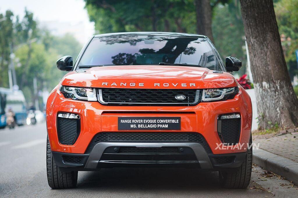 Chiêm ngưỡng Range Rover Evoque Convertible màu độc nhất Việt Nam của nữ biker Hà thành - Hình 8