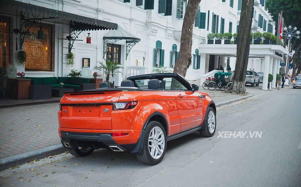 Chiêm ngưỡng Range Rover Evoque Convertible màu độc nhất Việt Nam của nữ biker Hà thành - Hình 9