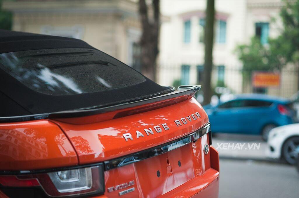 Chiêm ngưỡng Range Rover Evoque Convertible màu độc nhất Việt Nam của nữ biker Hà thành - Hình 11