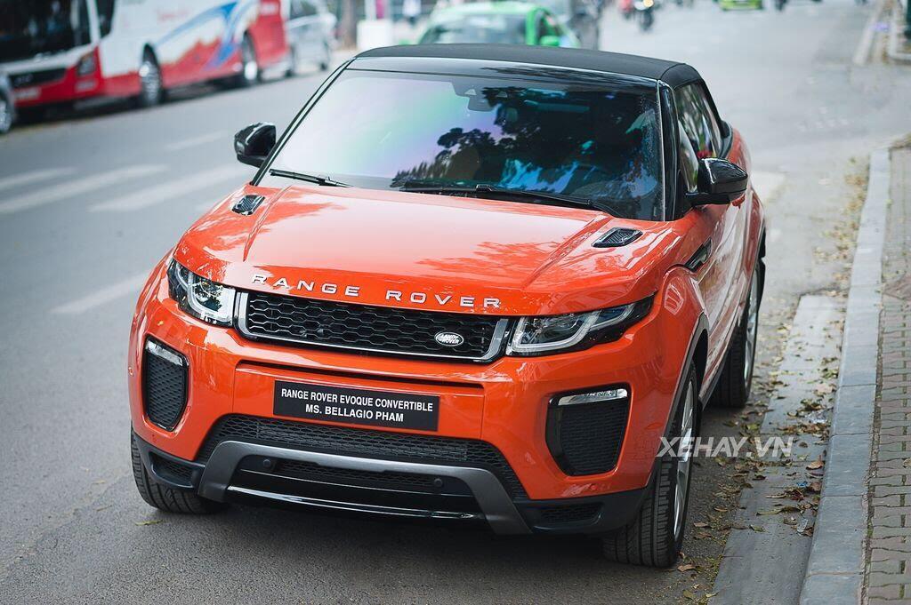 Chiêm ngưỡng Range Rover Evoque Convertible màu độc nhất Việt Nam của nữ biker Hà thành - Hình 14