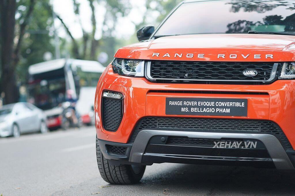Chiêm ngưỡng Range Rover Evoque Convertible màu độc nhất Việt Nam của nữ biker Hà thành - Hình 18