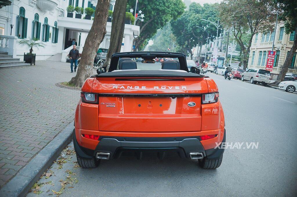 Chiêm ngưỡng Range Rover Evoque Convertible màu độc nhất Việt Nam của nữ biker Hà thành - Hình 19