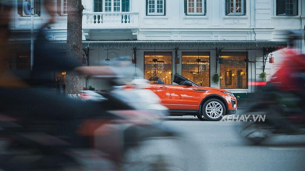 Chiêm ngưỡng Range Rover Evoque Convertible màu độc nhất Việt Nam của nữ biker Hà thành - Hình 22