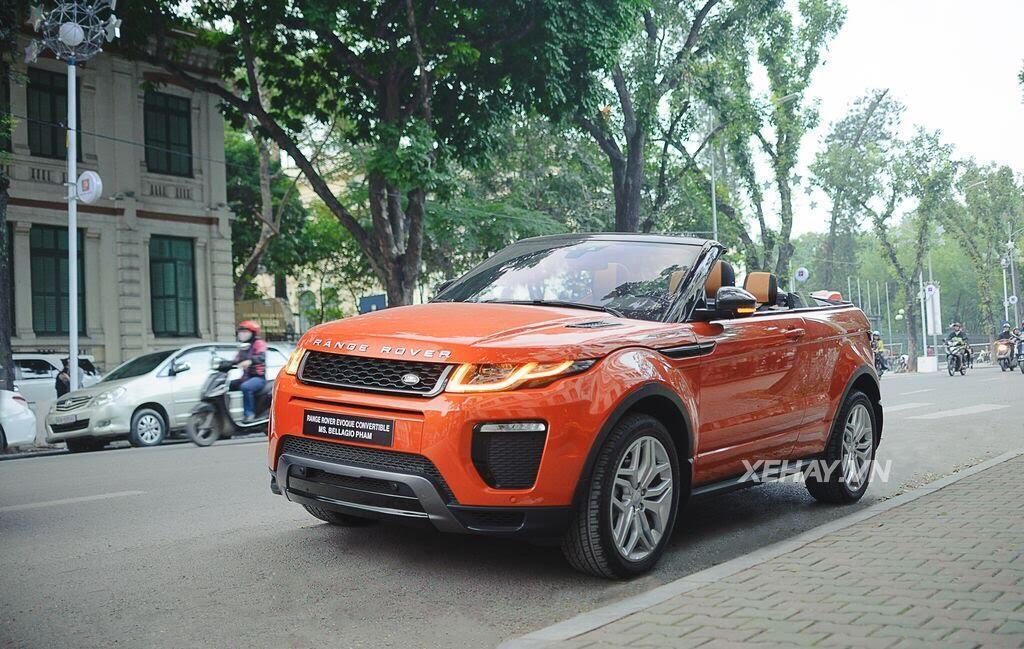 Chiêm ngưỡng Range Rover Evoque Convertible màu độc nhất Việt Nam của nữ biker Hà thành - Hình 23