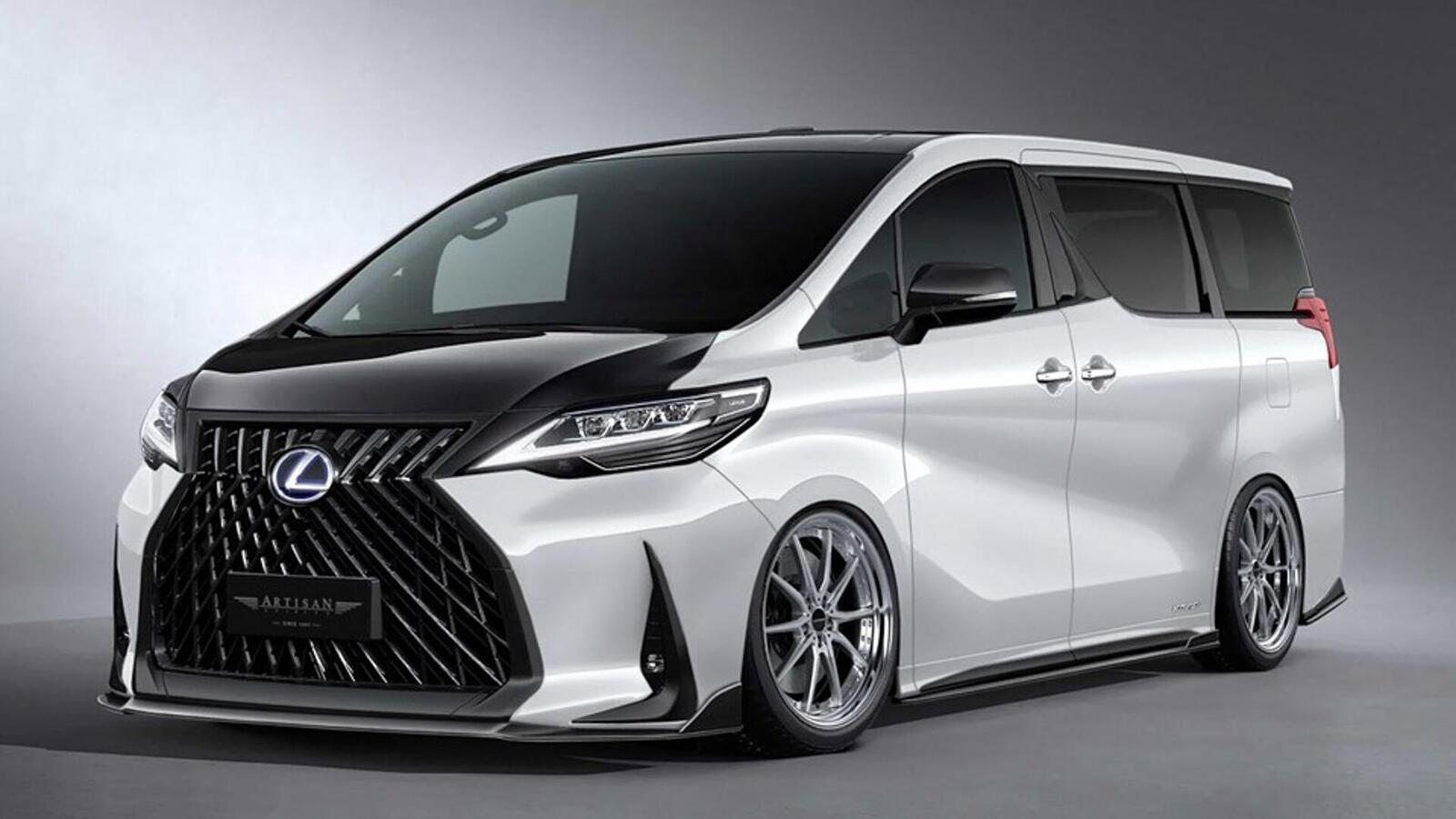 Chưa bán ra thị trường, Lexus LM đã có bản độ - Hình 1