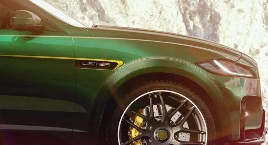 Chưa hài lòng với Jaguar F-Pace SVR, Lister tung ra một bản độ mạnh mẽ hơn nữa - Hình 1