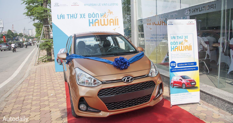 Cơ hội lái thử Hyundai Grand i10 2017 lắp ráp trong nước tại Hà Nội - Hình 1