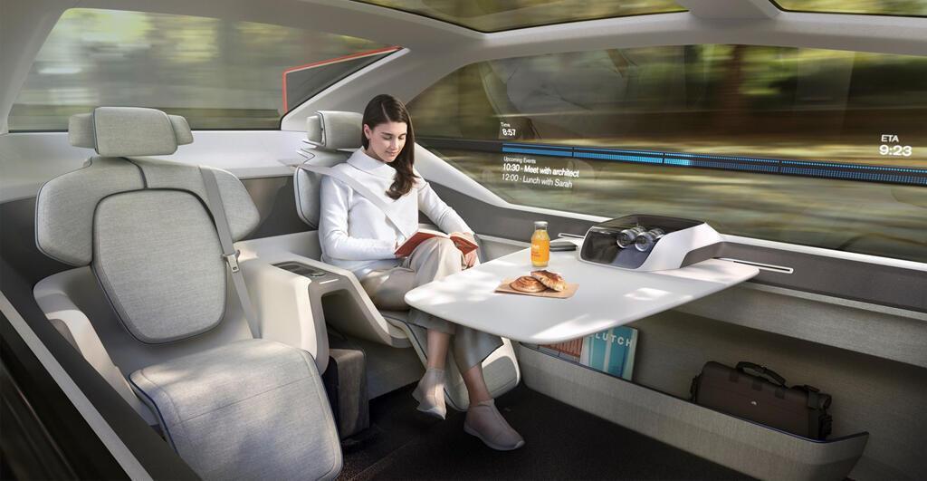 Concept 'phi cơ mặt đất' của Volvo - Hình 2