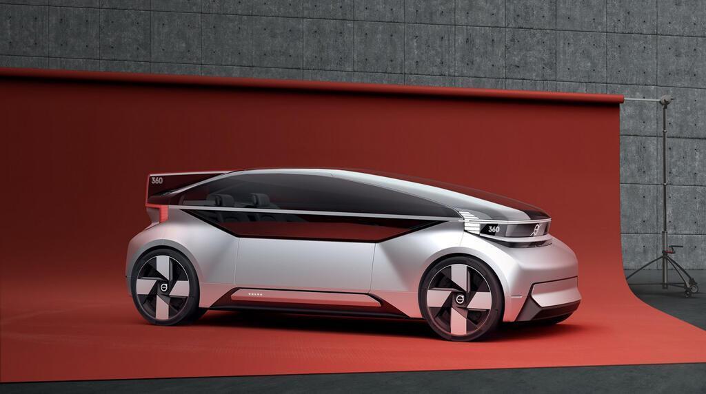Concept 'phi cơ mặt đất' của Volvo - Hình 4