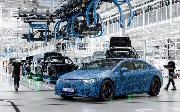 công nghệ khi làm xe điện