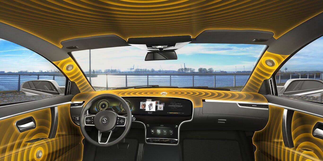 Continental giới thiệu hệ thống âm thanh không loa trên xe - Hình 1