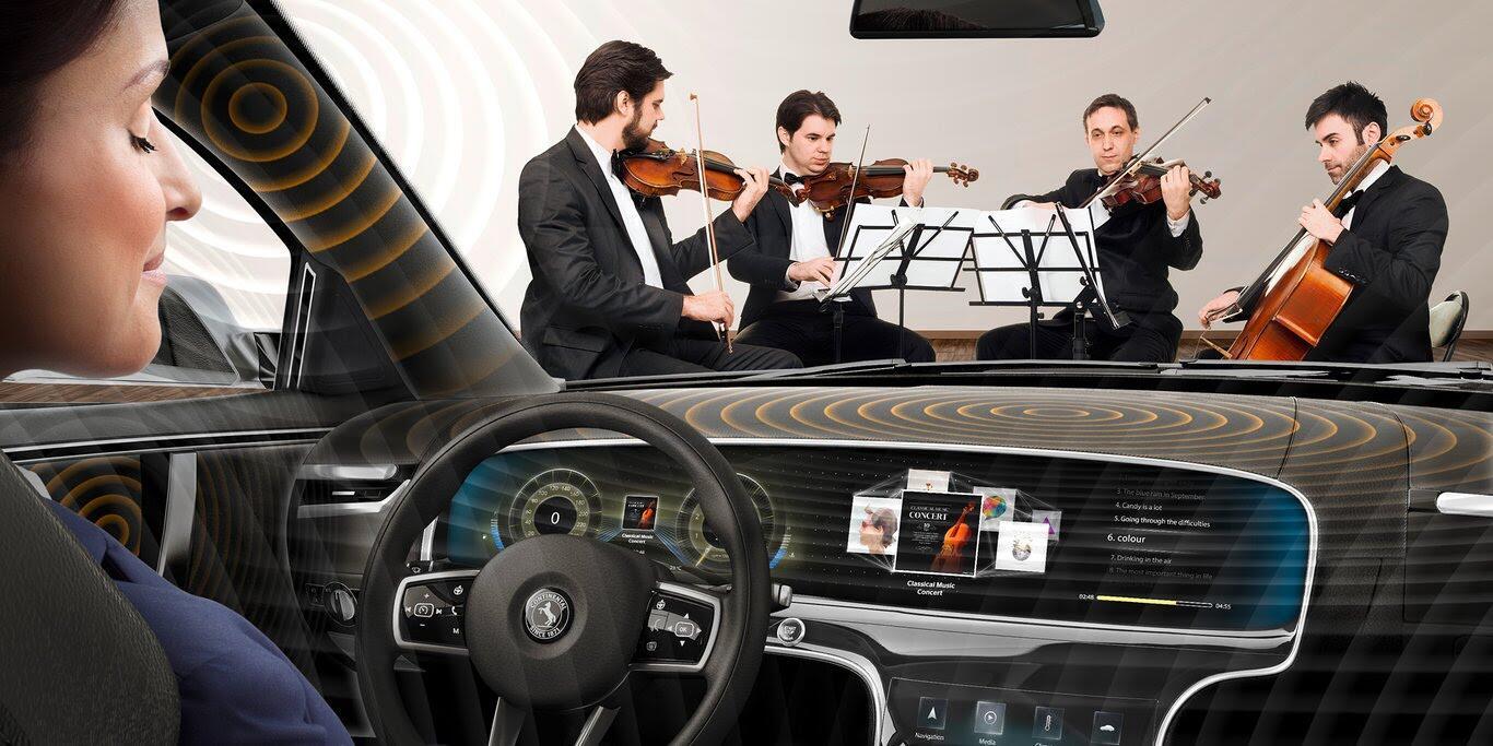 Continental giới thiệu hệ thống âm thanh không loa trên xe - Hình 3