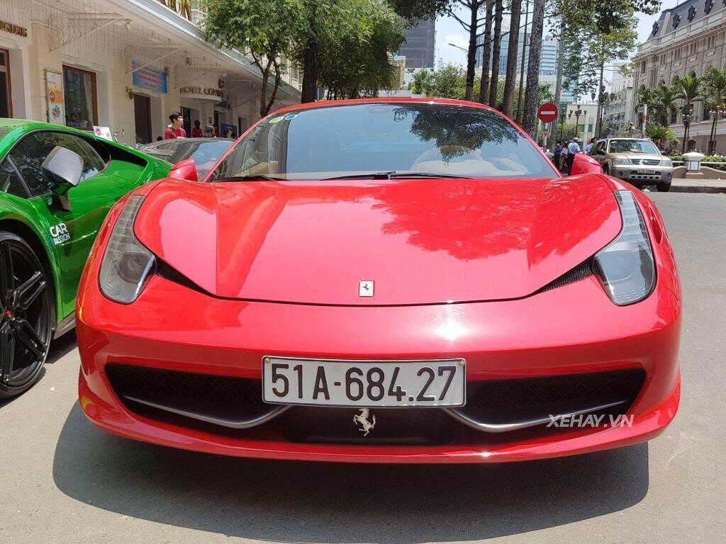 Cường Đô La và người đẹp Đàm Thu Trang tụ họp cùng dàn siêu xe Sài thành - Hình 3