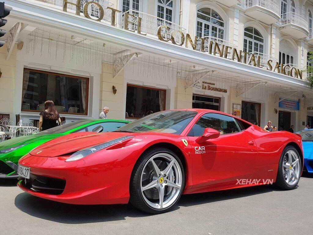 Cường Đô La và người đẹp Đàm Thu Trang tụ họp cùng dàn siêu xe Sài thành - Hình 5