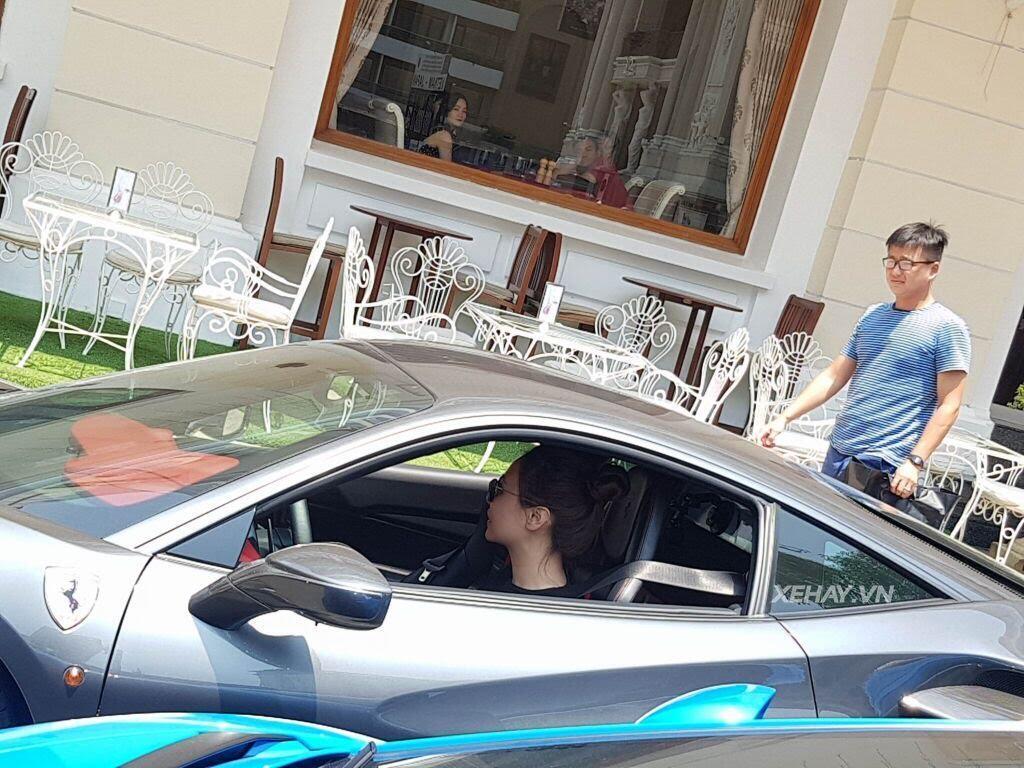 Cường Đô La và người đẹp Đàm Thu Trang tụ họp cùng dàn siêu xe Sài thành - Hình 8