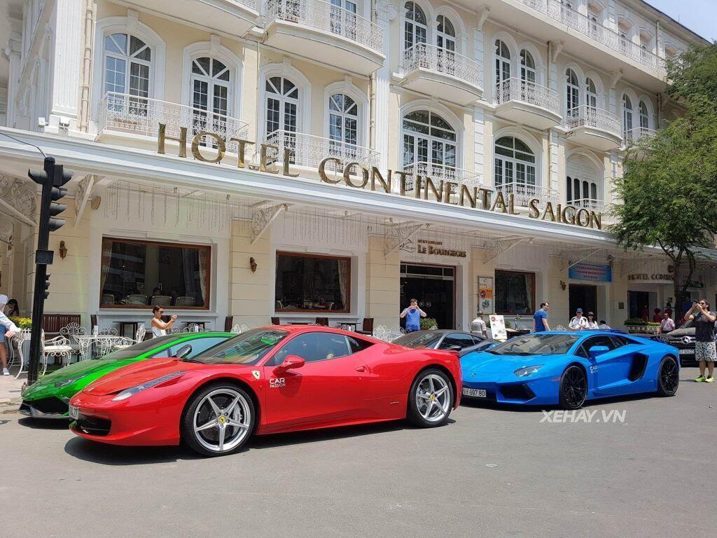 Cường Đô La và người đẹp Đàm Thu Trang tụ họp cùng dàn siêu xe Sài thành - Hình 10