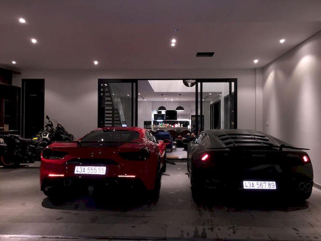 Đà Nẵng: Ferrari 488 GTB và Lamborghini Huracan LP610-4 biển - Hình 1