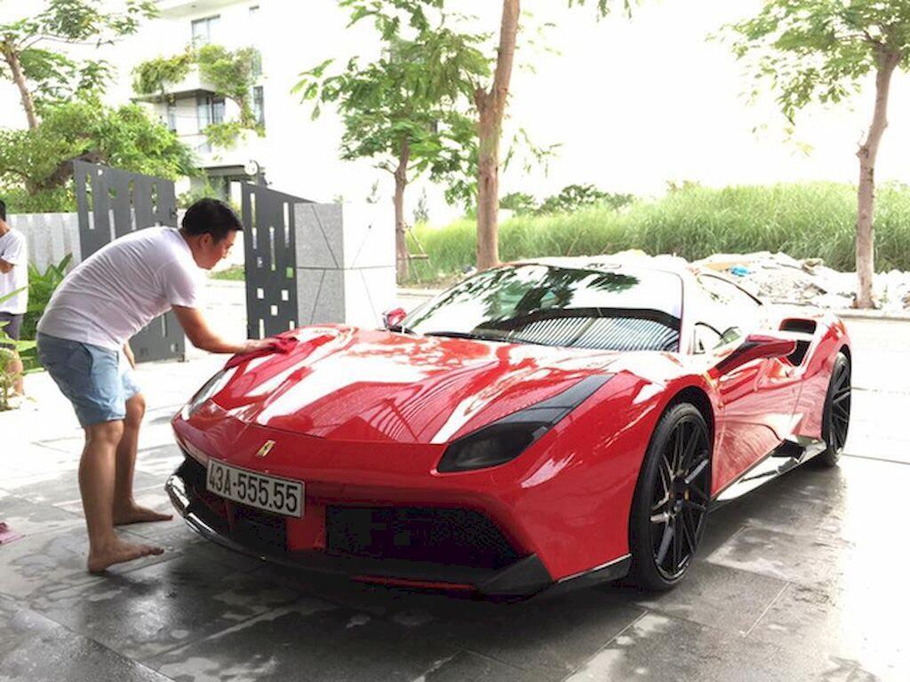 Đà Nẵng: Ferrari 488 GTB và Lamborghini Huracan LP610-4 biển - Hình 2