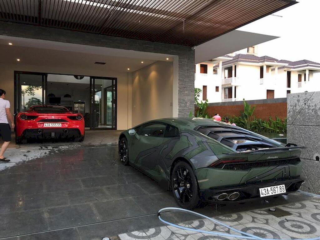Đà Nẵng: Ferrari 488 GTB và Lamborghini Huracan LP610-4 biển - Hình 6