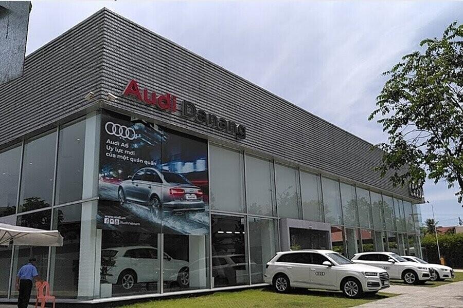 Mặt tiền Showroom Audi Đà Nẵng