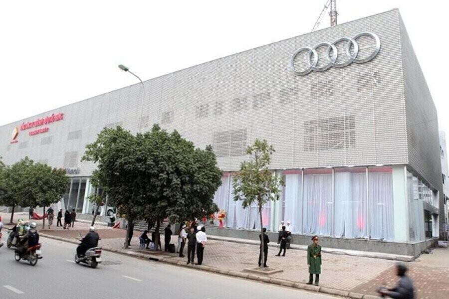 Mặt tiền Showroom Audi Hà Nội