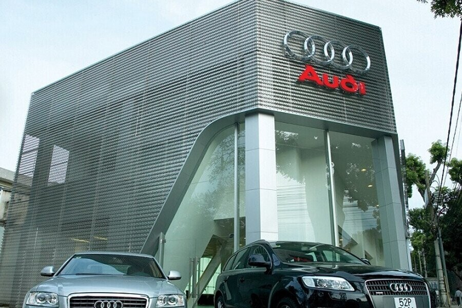 Mặt tiền Showroom Audi Hồ Chí Minh