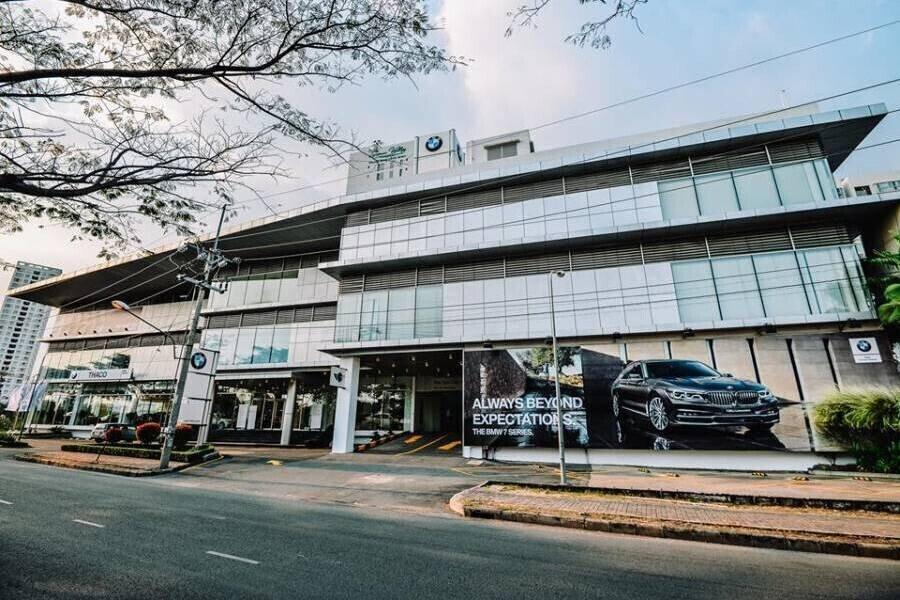 Mặt tiền Showroom BMW Phú Mỹ Hưng