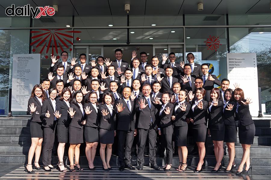 Đội ngũ cán bộ nhân viên BMW Phú Mỹ Hưng
