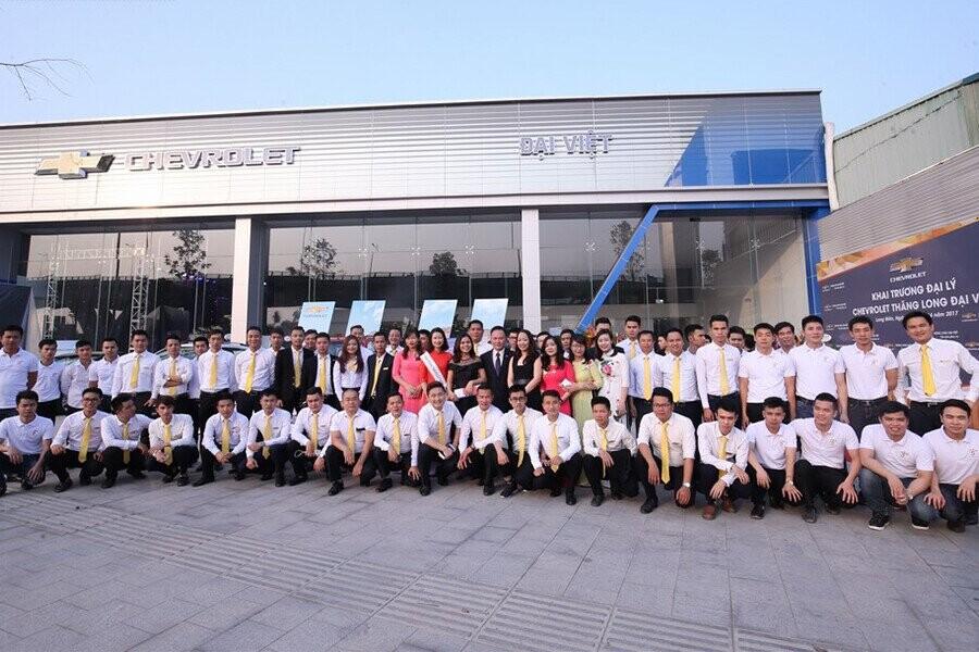 Chevrolet Đại Việt hiện nay vươn lên trở thành Đại lý số 1 của Chevrolet Việt Nam