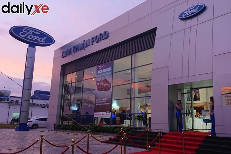 Showroom Ford Bình Thuận