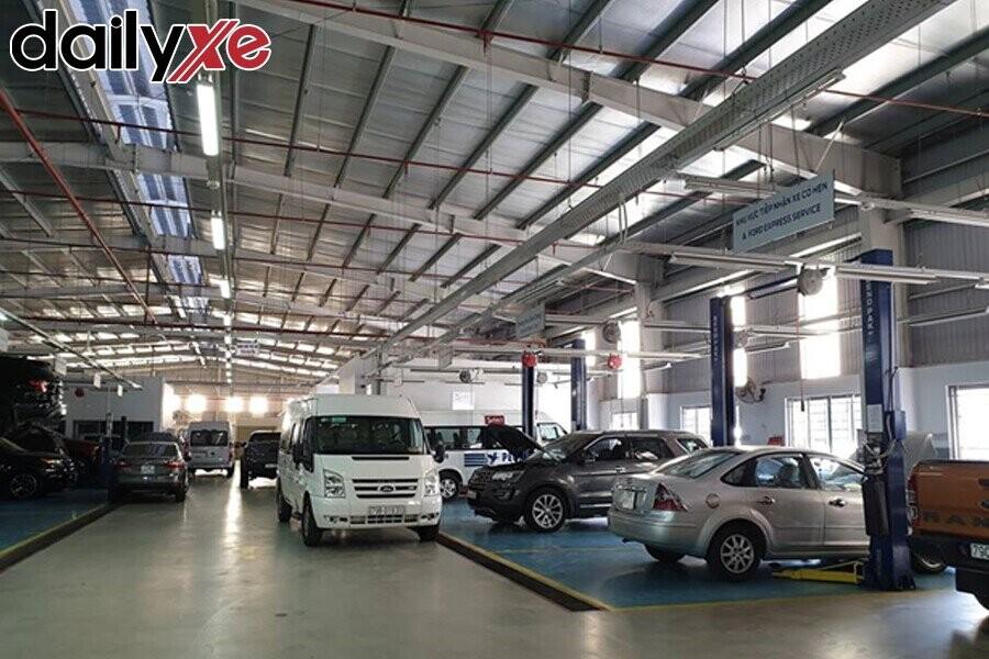 Khu vực sửa chữa Ford Nha Trang - Hình 1