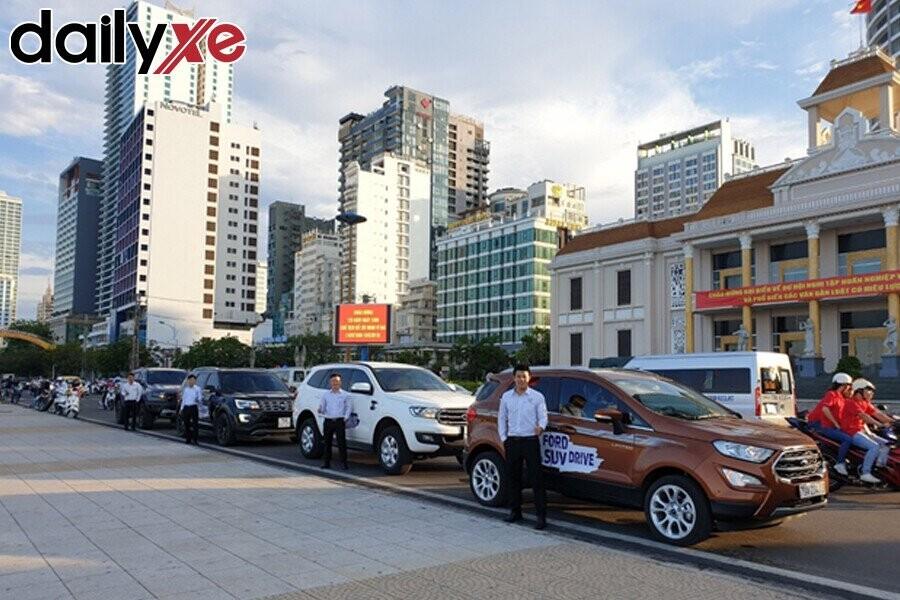 Xe lái thử Ford Nha Trang