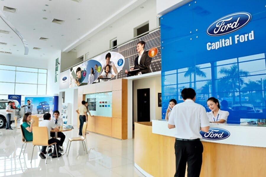 Đại Lý Ford Thủ Đô Quận Hoàng Mai Hà Nội - Hình 2