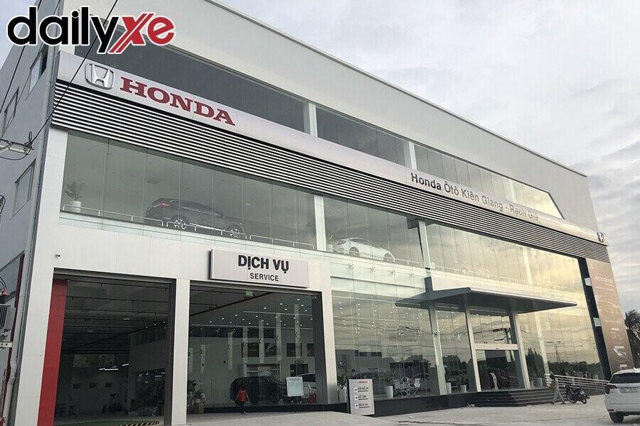 Showroom Honda Ôtô Kiên Giang