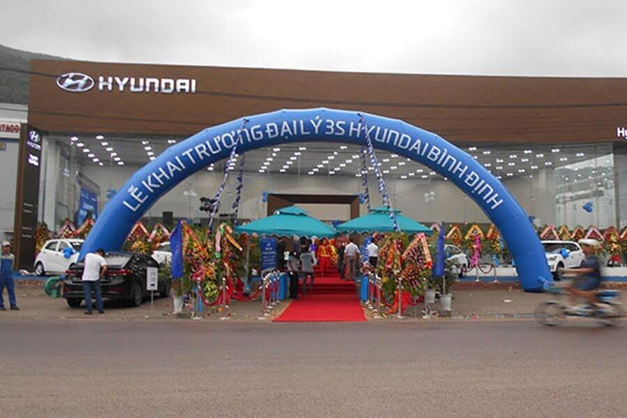 Đại Lý Hyundai Bình Định TP Quy Nhơn Tỉnh Bình Định - Hình 1