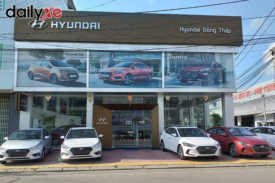 Mặt tiền Showroom Hyundai Đồng Tháp