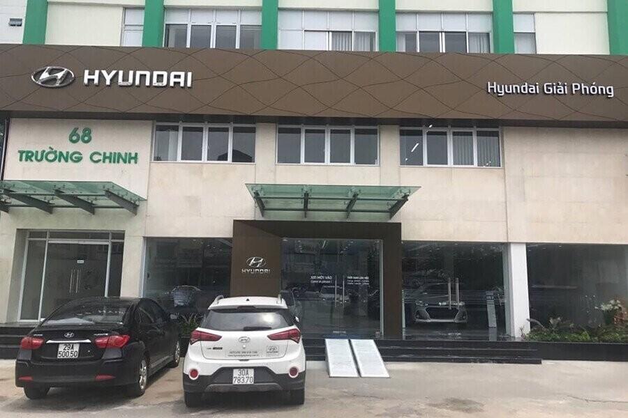Tổng quan Showroom Hyundai Giải Phóng 1S