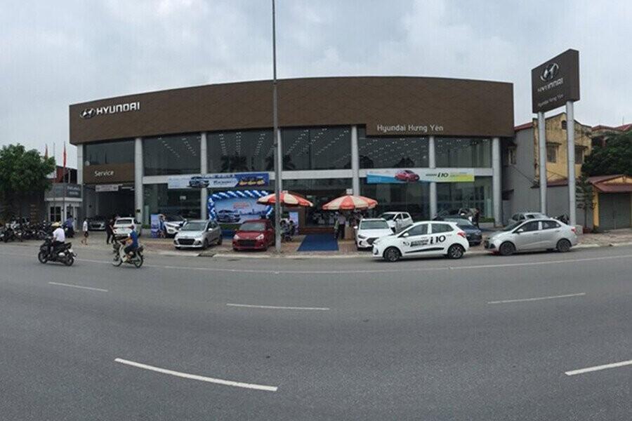 Toàn cảnh Showroom Hyundai Hưng Yên