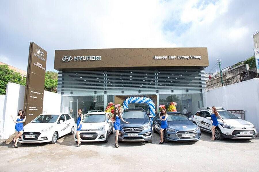 Showroom Hyundai Kinh Dương Vương 1S