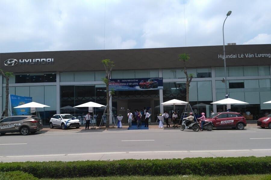 Đại Lý Hyundai Lê Văn Lương Quận Cầu Giấy Hà Nội - Hình 1